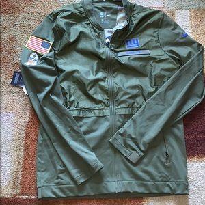 New Nike Salute to Service NY Giants Jacket